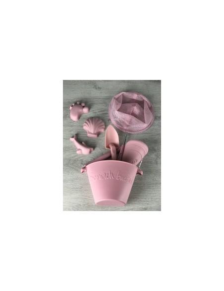 SCRUNCH -Łopatka - Pudrowy Róż